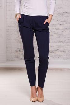 Классические темно синие брюки Angela Ricci