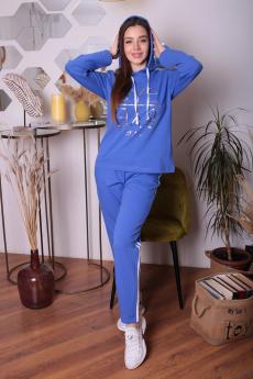 Голубой спортивный костюм ElenaTex