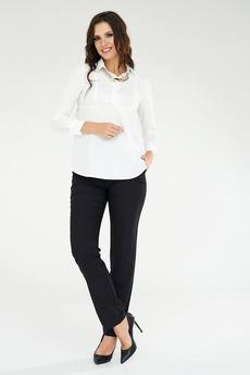 Черные брюки прямого кроя Angela Ricci