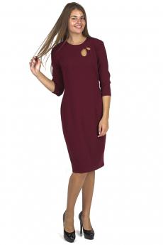 Новинка: платье винного цвета Bast